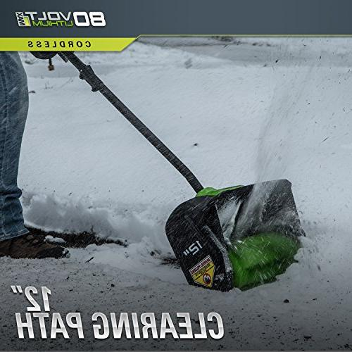 Greenworks PRO Cordless Snow AH Battery 2600602