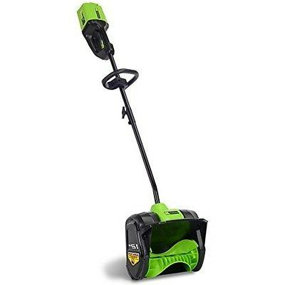 Greenworks 2601202 Pro 80V Cordless Lithium-Ion 12 in. Snow