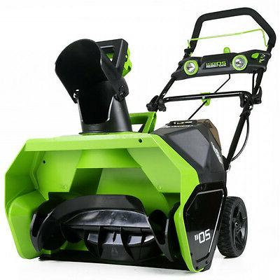 Greenworks 26272 40V Cordless Lithium-Ion Snow Thrower