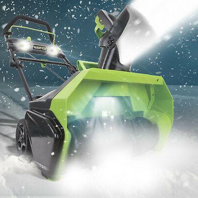 Greenworks 26272 40V Cordless Lithium-Ion Snow