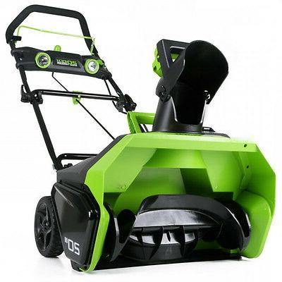 Greenworks 26272 Cordless 20 in. Snow Thrower