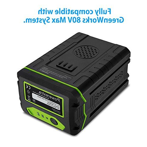 Powerextra 3.0Ah Battery Compatible PRO 80V Lithium Battery