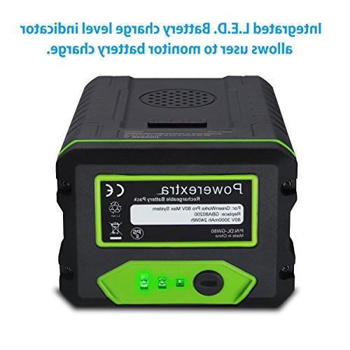 Powerextra 80V Battery PRO Battery GBA80200