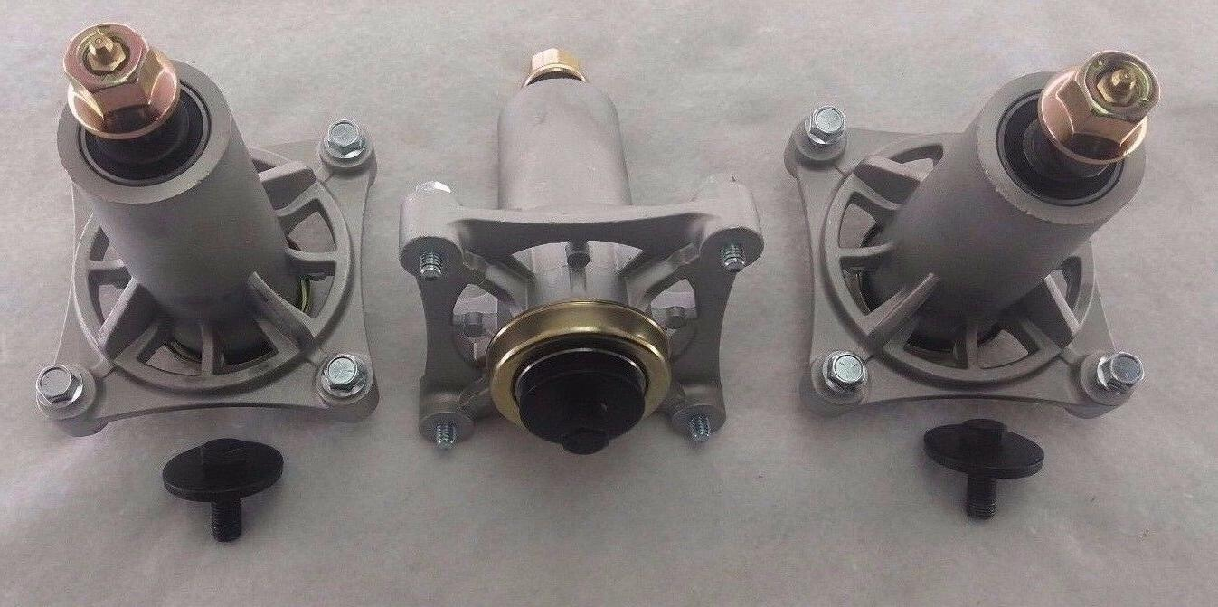 3 new deck blade spindle assembly fits
