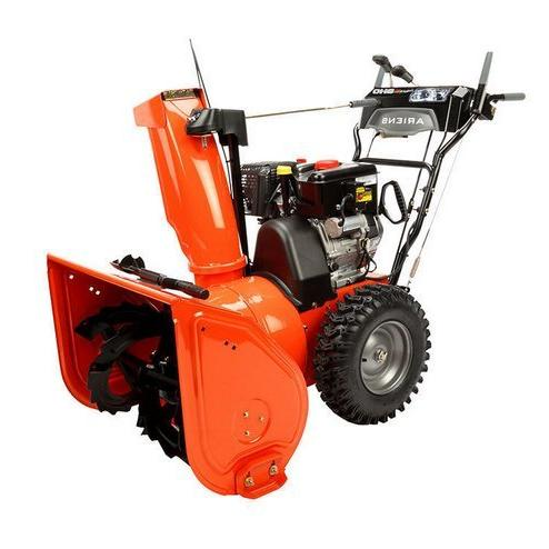 306cc two stage snow blower