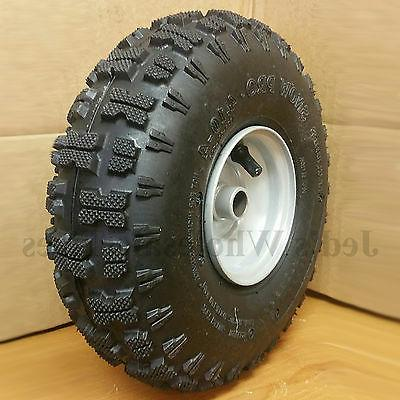 4.10-4 Thrower TIRE RIM ASSEMBLY Trac