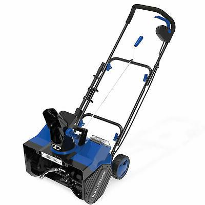 Snow Joe Cordless Snow Blower   18-Inch   Batteries & Charger
