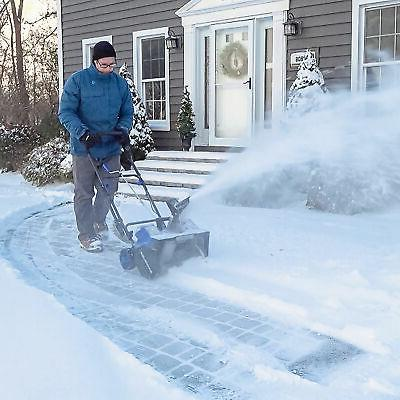 Snow Joe Cordless Snow Blower 18-Inch   W/ Batteries & Charger