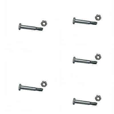 AM123342 5 Pack Snow Blower Shear Pins & Nuts Fits Ariens Mo