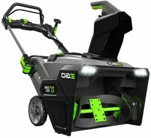 56v lithium ion 21inch cordless electric snow