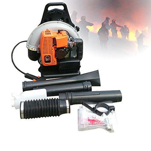 NOPTEG Professional 65CC Commercial Handheld Backpack Garden Yard Petrol Outdoor Blower
