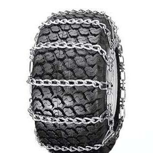 Snow Tire Chains for ATV, Snow Blower / Thrower 2 Link 24 x