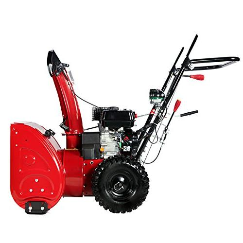 Amico AST-24 212cc Stage Gas Snow Thrower,