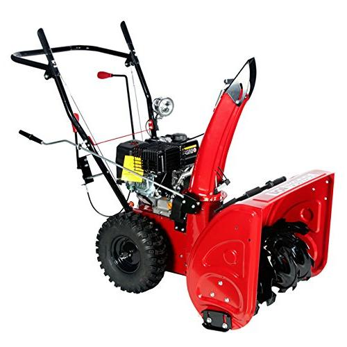 Amico Stage Start Snow Blower/Snow Thrower,