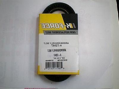 auger belt fits ariens snowblower 72047 07204700