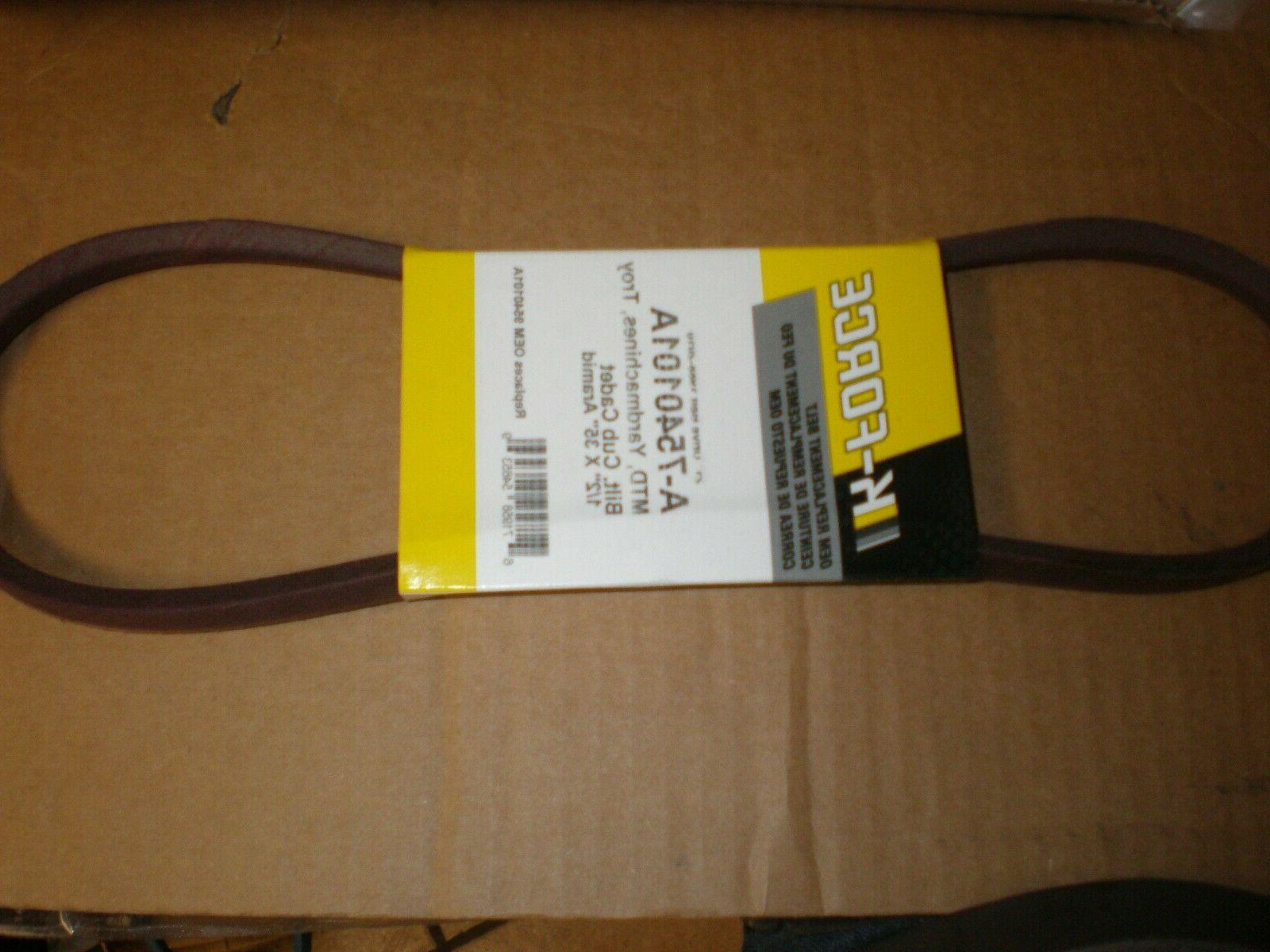 Belt fits MTD Yard Machines Snowblower Snow Blower 754-0101A