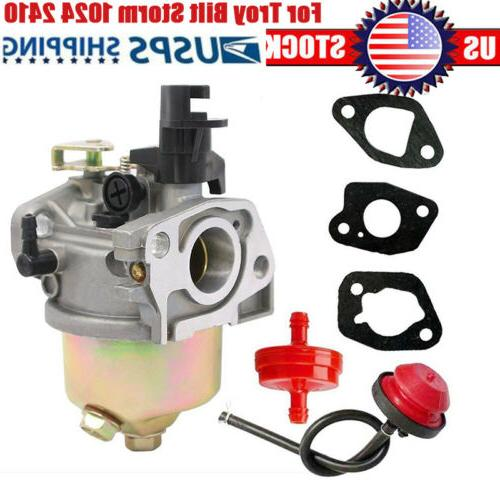 carburetor for craftsman 179cc mtd 208cc troy