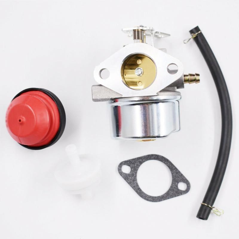 Carburetor Kit <font><b>Snow</b></font> 924108/924110/924328 Gasket Primer Bulb Filter Fuel