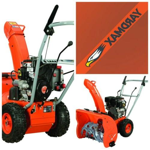 compact 24 in 2 stage electric start