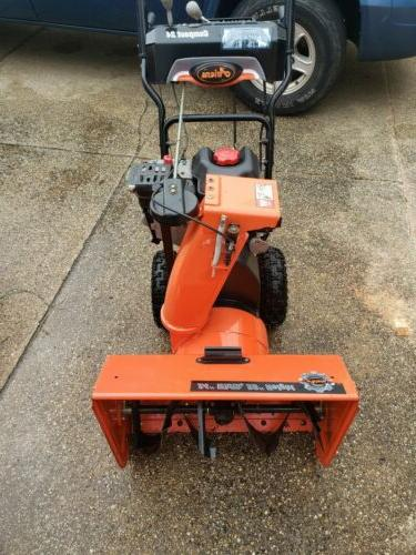 compact 24 snow blower