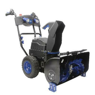 cordless 2 stage snow blower 24 inch