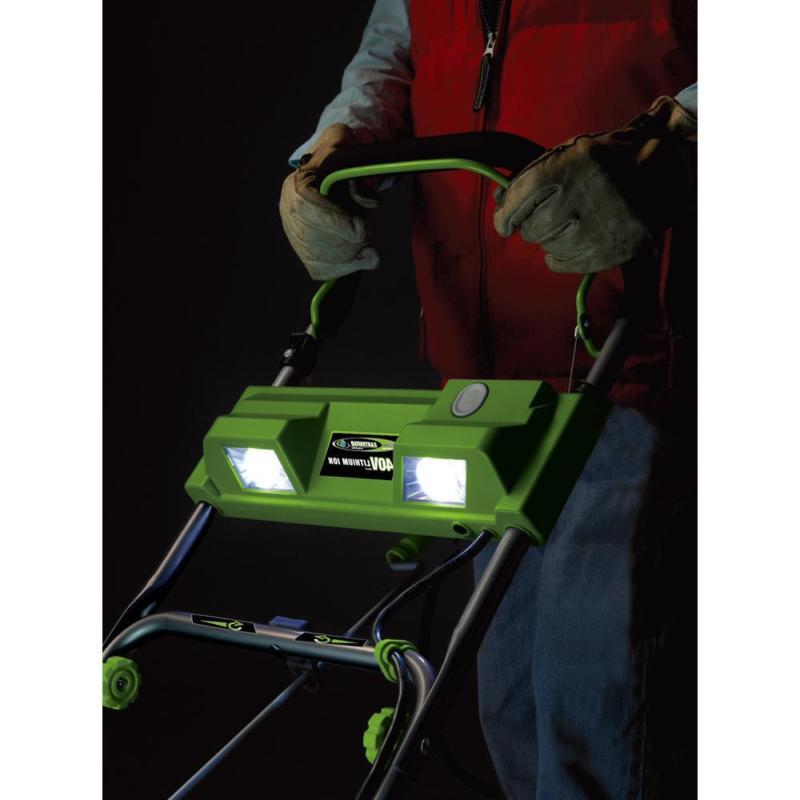 Earthwise Cordless Electric Thrower 18 4 Ah