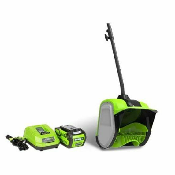 CORDLESS LIGHTWEIGHT Greenworks Snow Shovel, AH