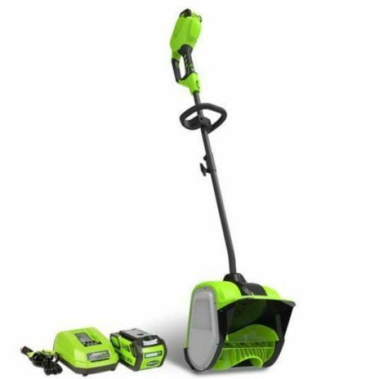 cordless lightweight 40v snow shovel 4 0