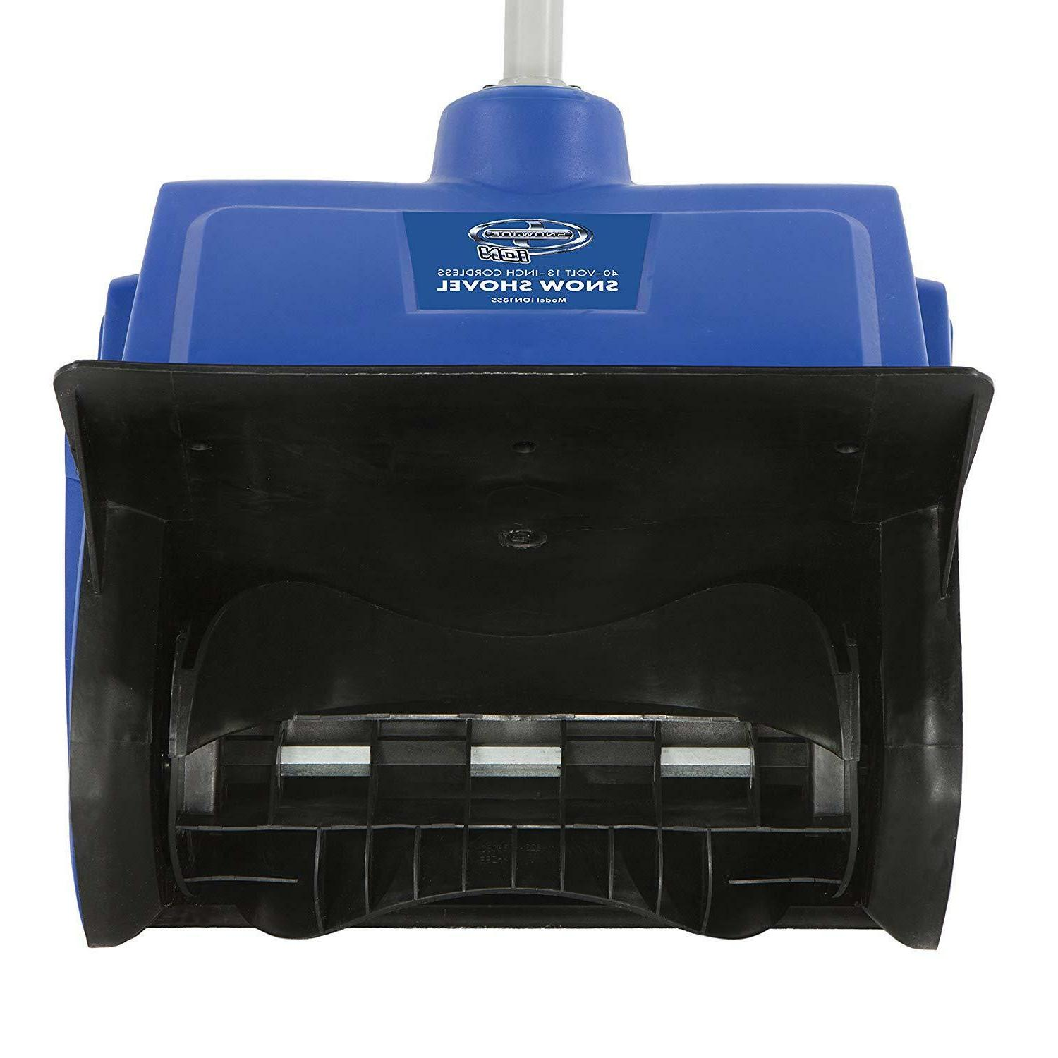 Cordless Snow Blower Volt Mover Driveway Inch
