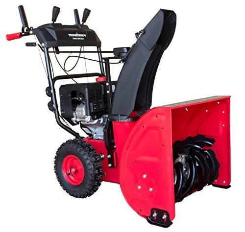 PowerSmart DB7624E in. 212cc 2-Stage Gas Snow Blower