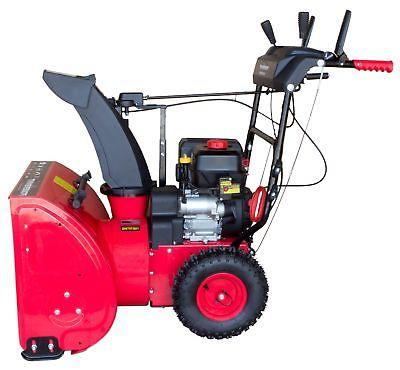 DB7624E 24 Electric Self-Propelled Gas Snow Blower