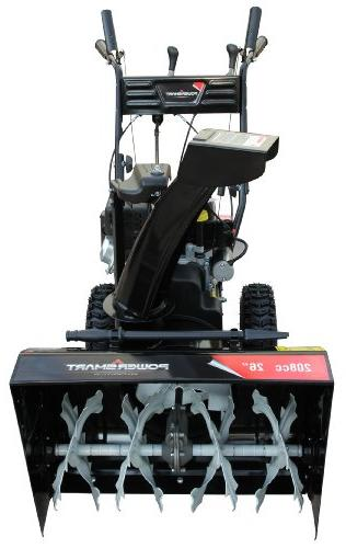 Power Smart DB7651A 26-inch 208cc Gas 2-Stage Snow Electric