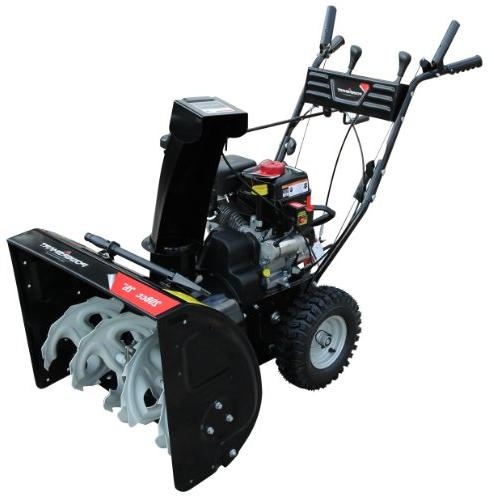 Power Smart 208cc LCT Gas 2-Stage Snow Thrower Electric