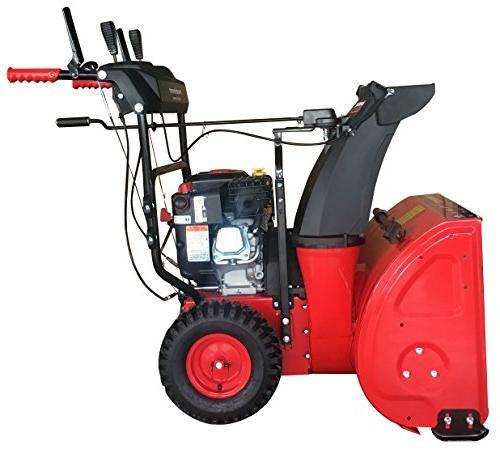 PowerSmart DB7651BS-24 & Gas Blower, Red,