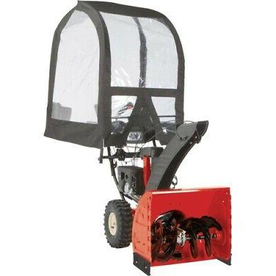 deluxe universal snow thrower cab