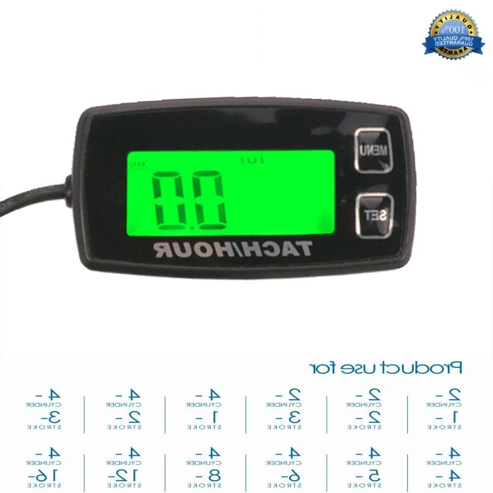 digital resettable backlit gauge for 2 4