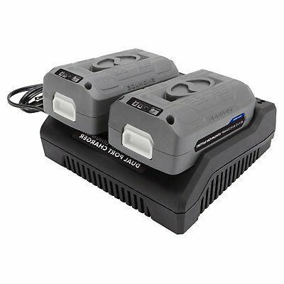 Snow Joe Dual Battery Series, Black
