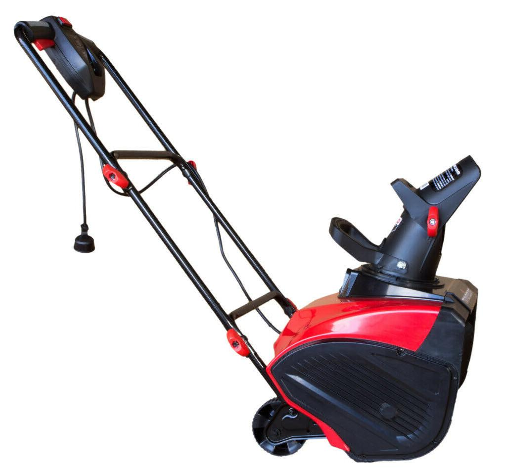 "ELECTRIC SNOW BLOWER 18"" 15 Single"