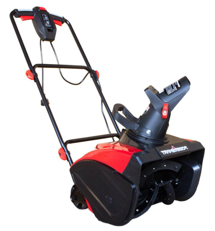 electric snow blower 18 15 amp 120v