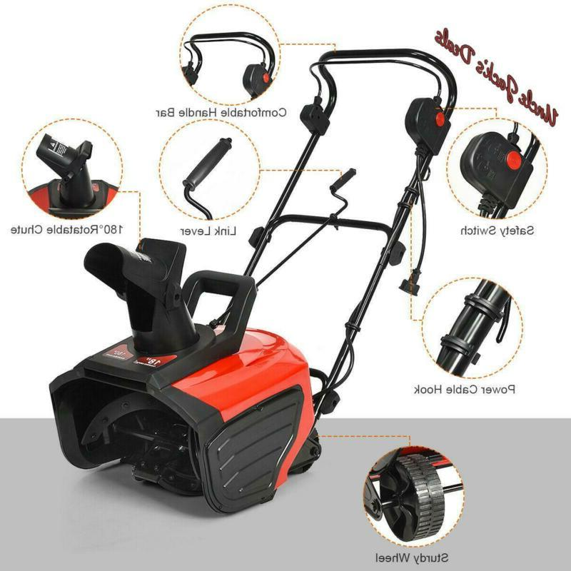 Electric Thrower Amp Snow Thrower Corded Snow Blower