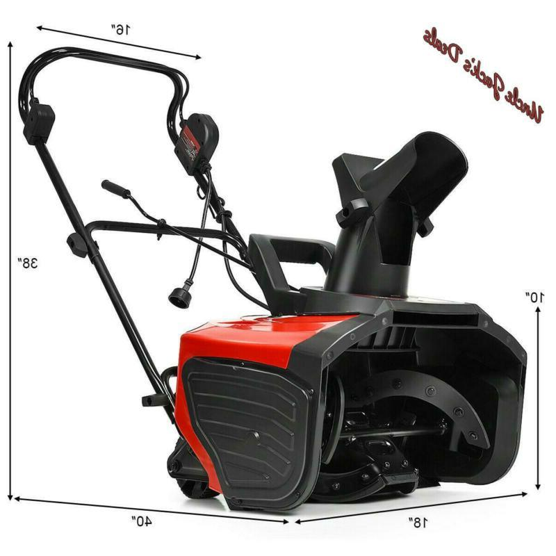 Electric Thrower Amp Snow Blower