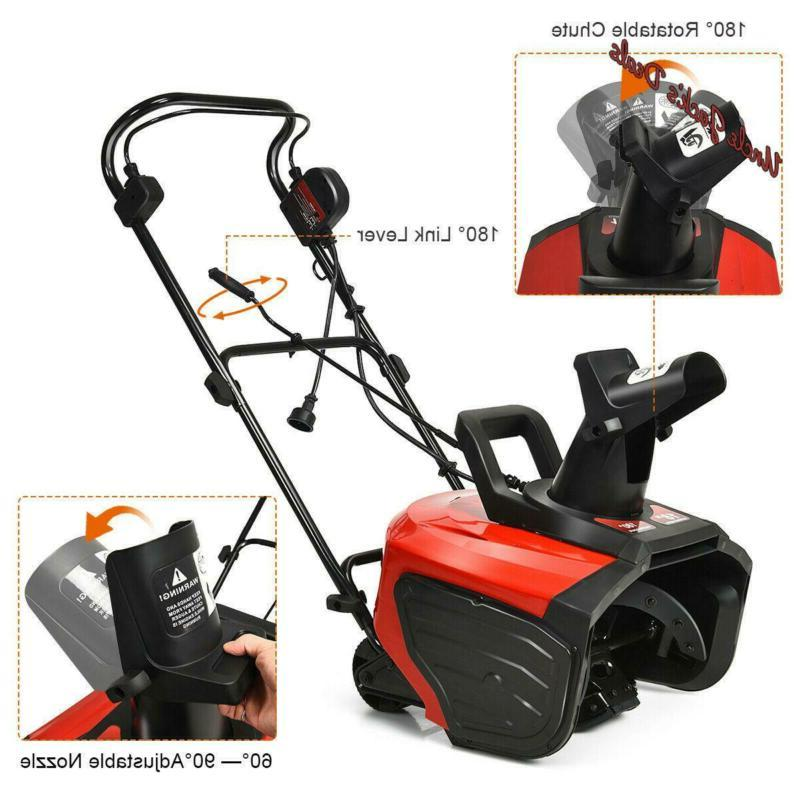 Electric Thrower 15 Amp Thrower Snow Blower