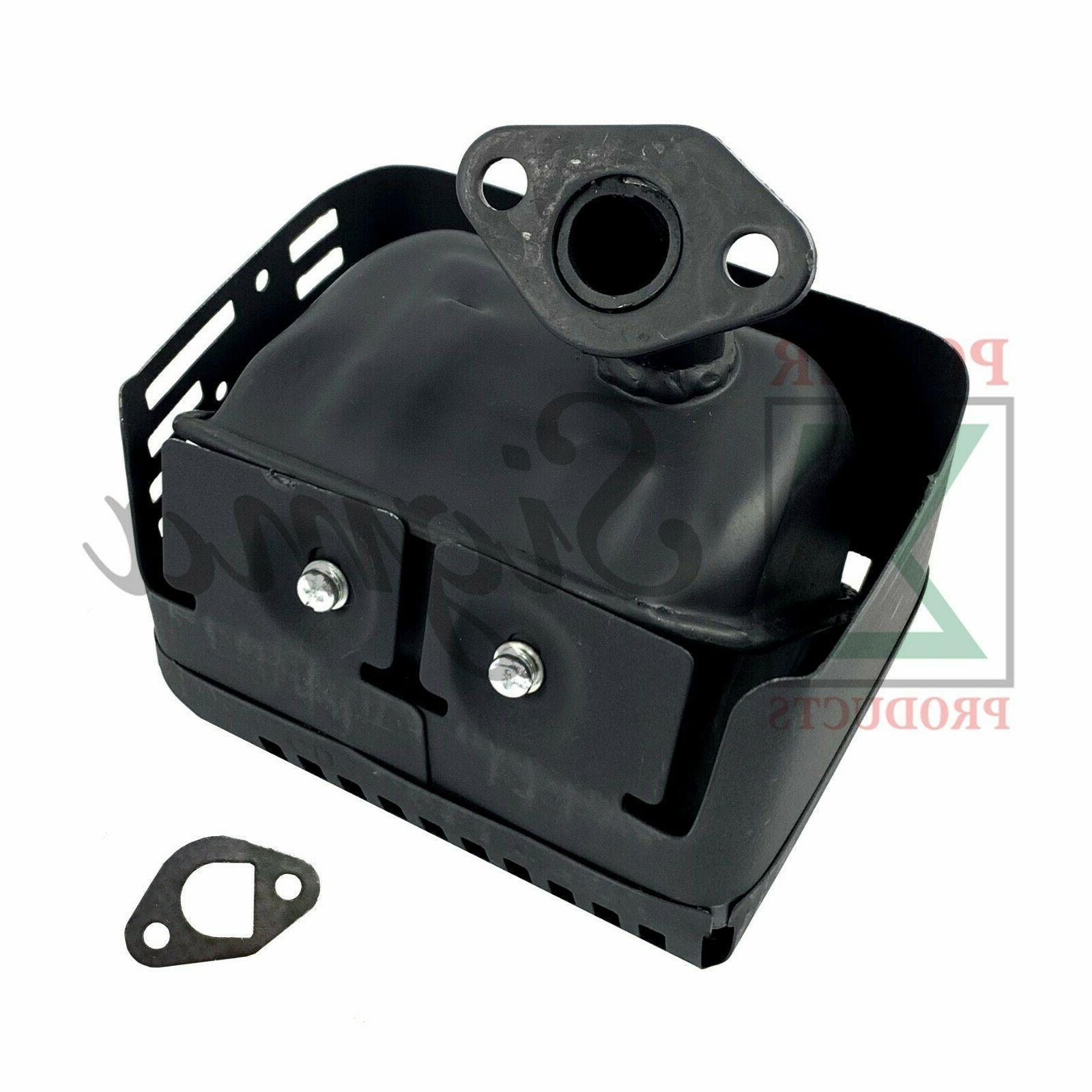 Exhaust Muffler Shield Honda