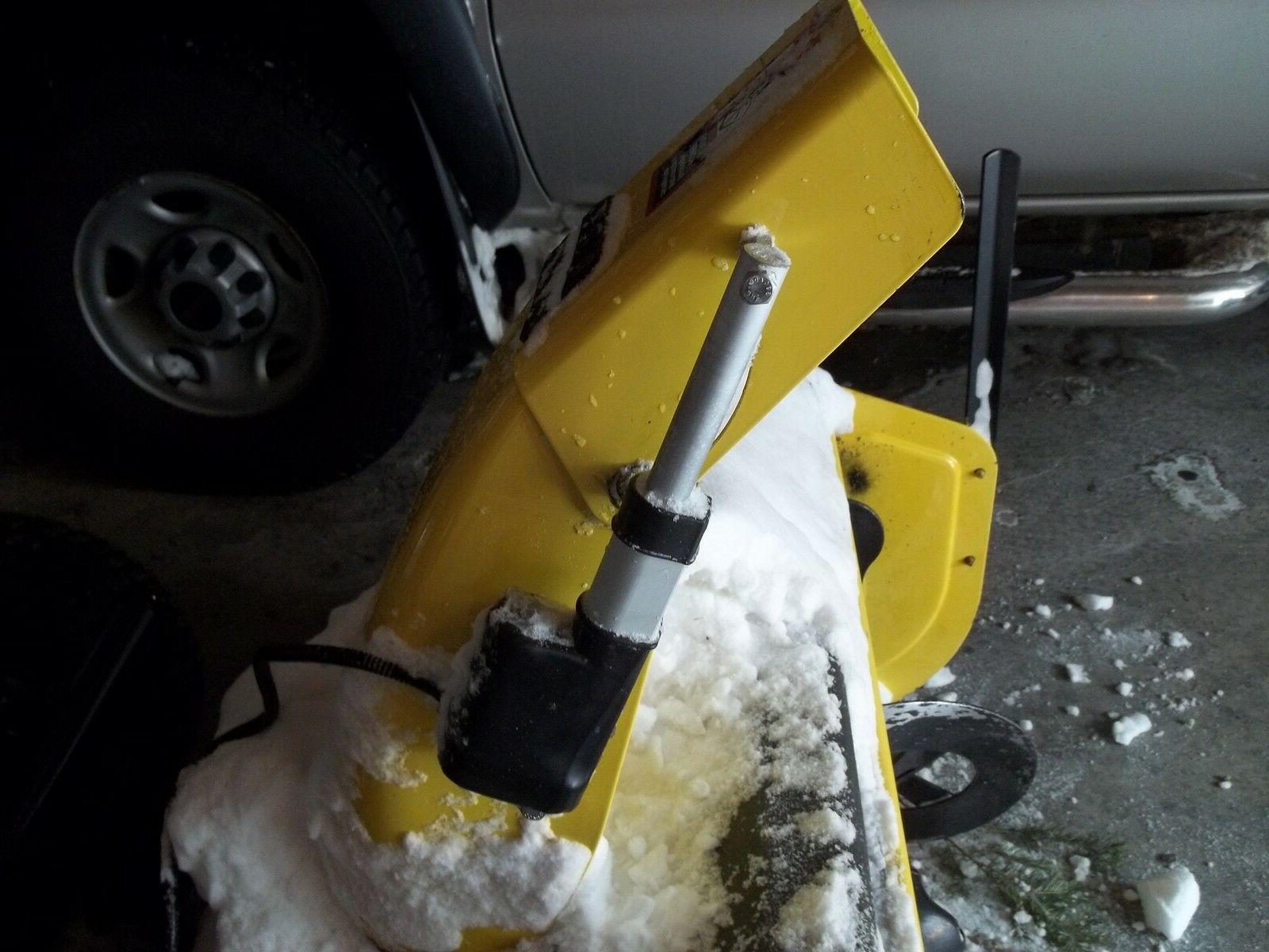 FOR JOHN SNOW BLOWER LINEAR CHUTE CONTROL KIT PLANS