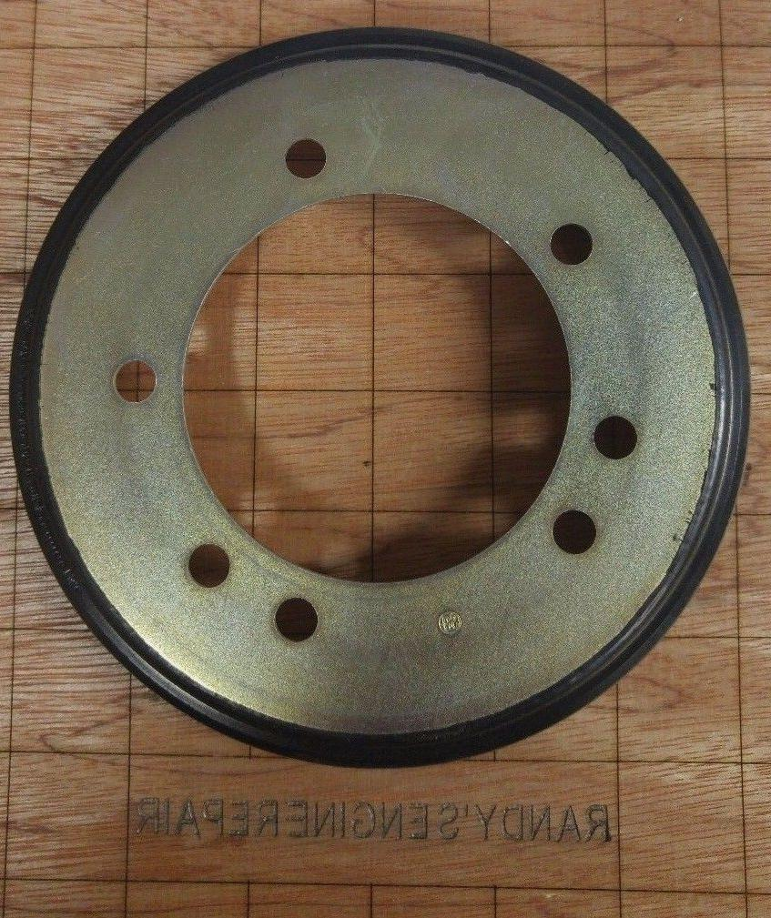 friction drive disc 6 x 3 7