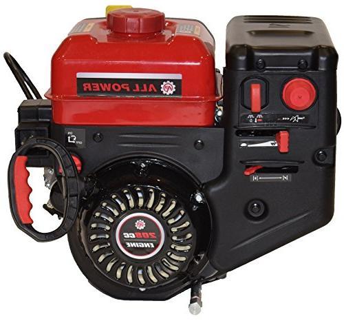 ge208s gas snow engine