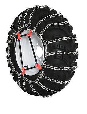 Grizzlar GTU-240 Snowblower 2 link Tire Chains 4.80/4.00-8 4