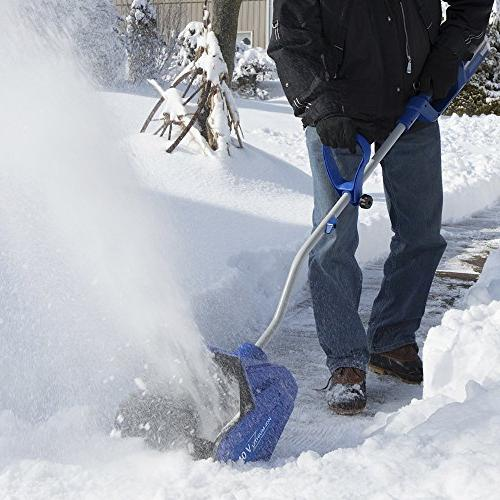 Snow Joe iON13SS 40-volt Cordless Snow Shovel with Rechargeable Ecosharp Lithium-ion 13-Inch