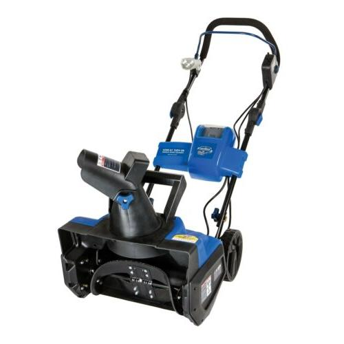 Snow Joe ION18SB-RM Factory Refurbished 40V Cordless Lithium-I