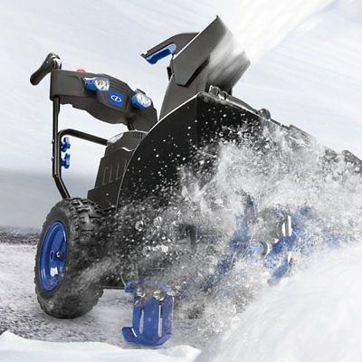 Snow 24 2 Cordless Snow Blower Thrower